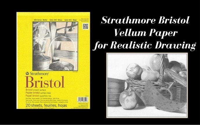 Strathmore Bristol Vellum Paper for Realistic Drawing