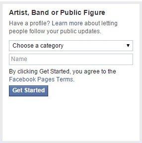 artist facebook page