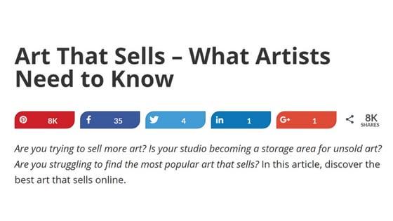promote art blog tips - Nevue Fine Art Markting