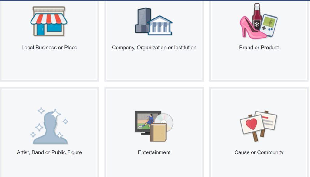 Create a Facebook Fan Page