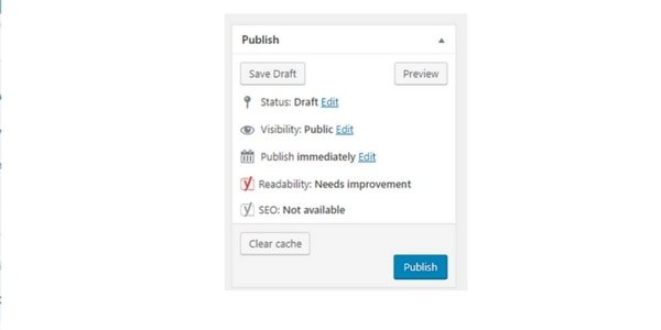 WordPress Post Options