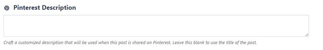 How to Hide Pinterest Images in Blog Posts with Social Warfare