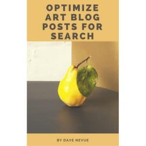 Optimize Art Blog Posts for Search