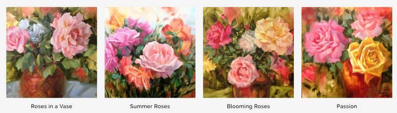 creating art in series - Nevue Fine Art Marketing