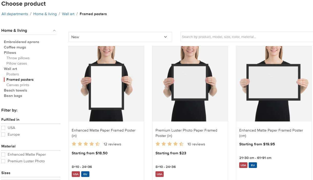 How To Sell Art Prints On Etsy With Printful