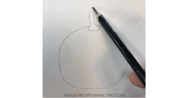 sketch the stem