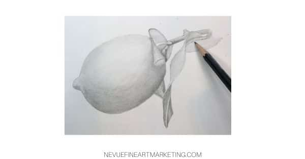 finish drawing stem