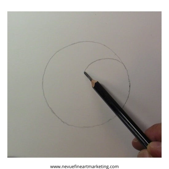draw curved line for split