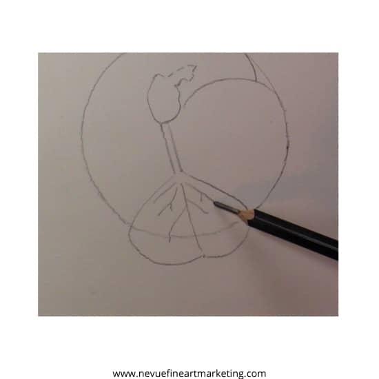 draw details in leaf