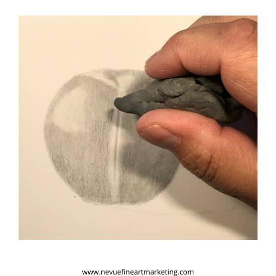 erase some graphite