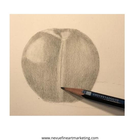 blend the graphite