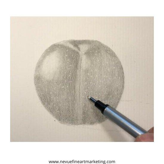 erase white dots