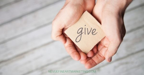giving to charity